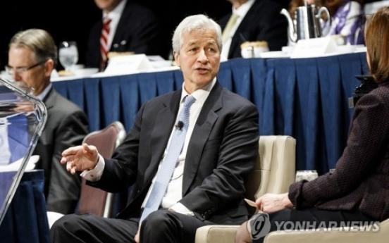 JPMorgan Chase earnings rise, upbeat on US economy