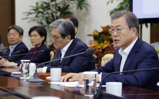 Moon calls for 4th inter-Korean summit