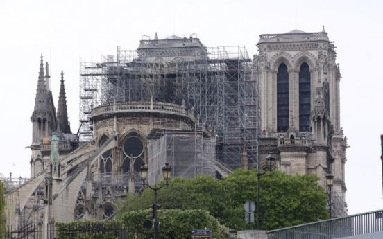 [Photo News] Notre Dame after the fire