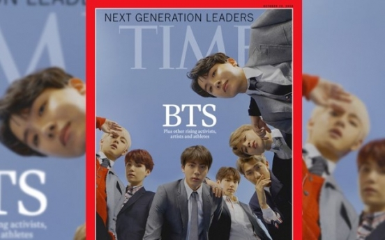 BTS ranked among Time's 100 Most Influential of 2019