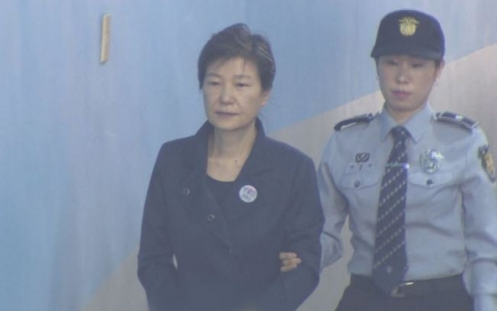 Ex-President Park receives medical assessment for stay of execution request