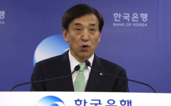 BOK chief departs for ASEAN+3 economic cooperation meeting