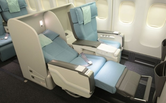 Korean Air to remove first-class seats from 27 international routes