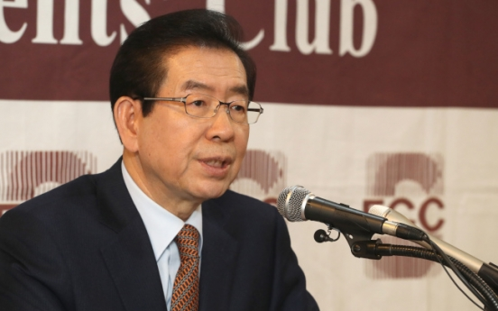 [Newsmaker] Seoul mayor condemns Liberty Korea Party sit-in plans