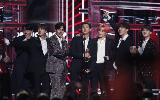 BTS wins two prizes at Billboard Music Awards