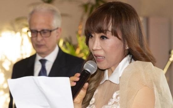 S. Korean soprano Jo Su-mi receives Italian order, knighthood