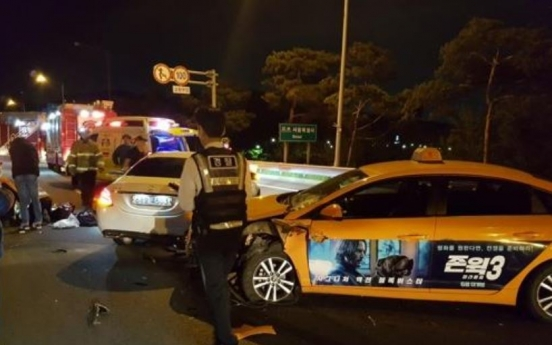 Woman, 28, dies after being hit by two cars on expressway