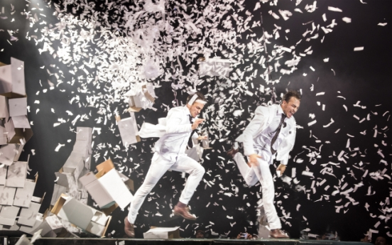 'Fuerza Bruta Wayra' revisits Seoul