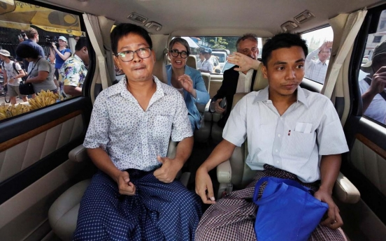 Statement on release of 2 Myanmar journalists: Asia News Network