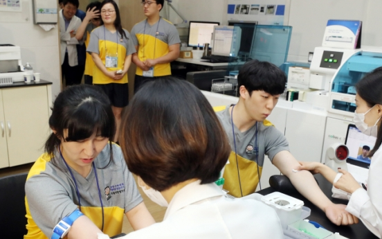 [From the Scene] The first step toward military service: The medical exam
