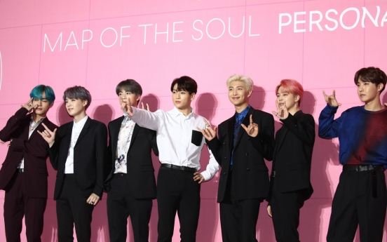 Sales of BTS' latest album hit all-time high