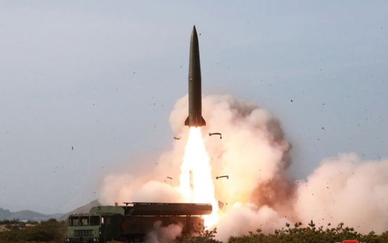 North Korea launches two projectiles, assumed to be short-range missiles: JSC