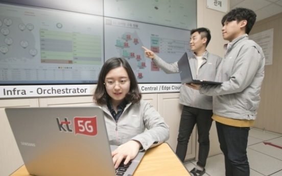 Competition grows over 'edge cloud' computing market in Korea