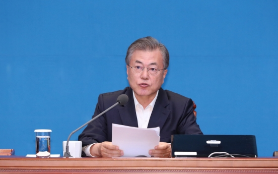 Moon urges political parties to change with times
