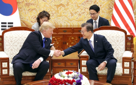 Moon, Trump to hold summit in Seoul in June