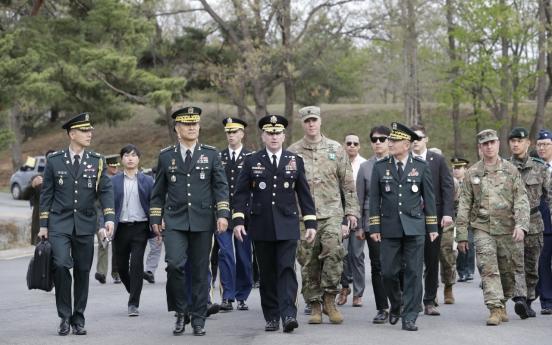 Moon to meet top military commanders of allies