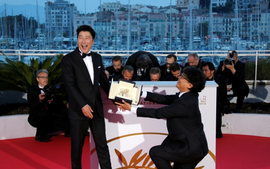 S. Korean cinema finally embraces Palme d'Or at Cannes