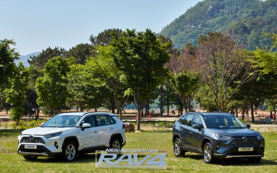 Toyota joins SUV competition with all-new RAV4