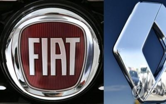 Renault shows 'interest' in Fiat Chrysler merger offer