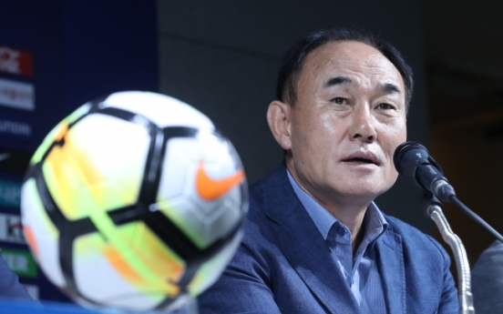 S. Korea to begin training on Monday for Olympic football qualifiers