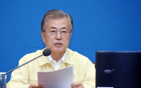 Moon slams main opposition over diplomatic leak