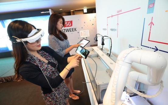 KT unveils biz roadmap for 5G-powered smart factories