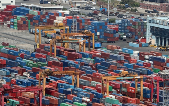 S. Korea's exports down 9.4 percent in May on chips, China