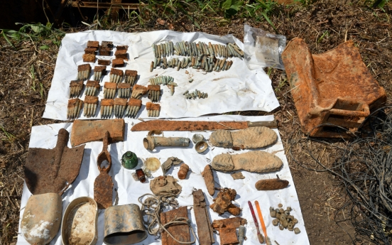 [From the Scene] DMZ uncovered: Traces of Korean War left untouched on Arrowhead Ridge