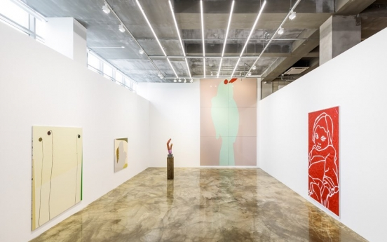 Beyond 'looking': British artist Gary Hume invites viewers to interact with his works