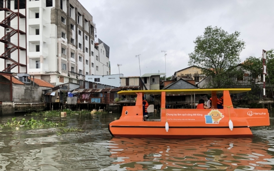 Hanwha Group helps tackle river pollution in Vietnam