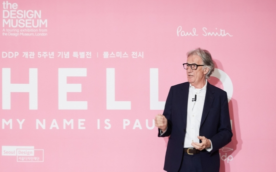 Paul Smith says 'Hi' to Seoul in exhibition showing his world