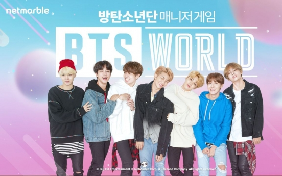 Original soundtrack for Netmarble's 'BTS World' released ahead of game