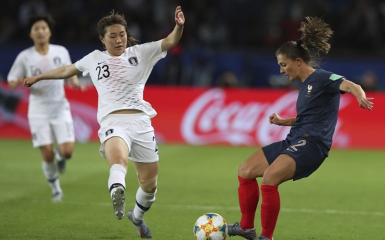 France beats S. Korea 4-0 in Women's World Cup opener