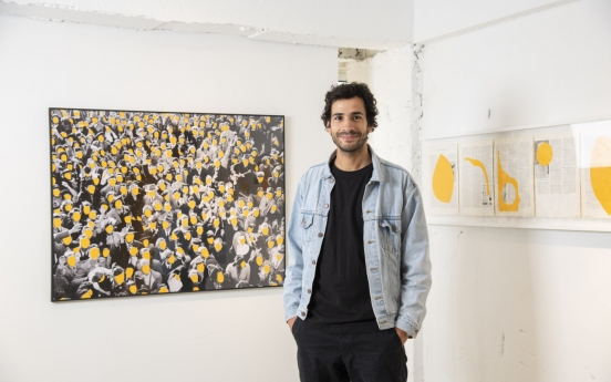 'Is it mine if I add some yellow?' -- B. D. Graft makes his mark