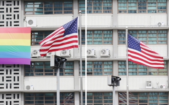 US Embassy in Seoul removes rainbow flag amid speculation of Washington's disapproval