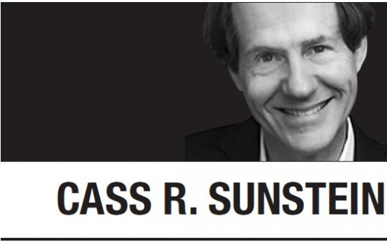 [Cass R. Sunstein] We are living in historic times. Or are we?