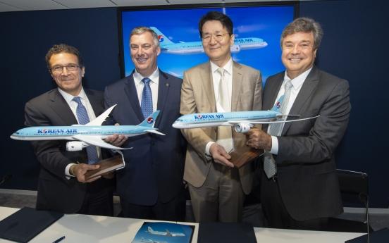 Korean Air orders 30 Boeing 787 aircraft for W11tr
