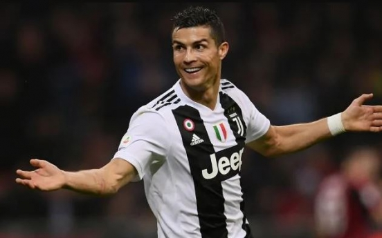 Cristiano Ronaldo to visit S. Korea in July for exhibition match