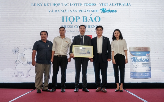 Lotte Food launches Vietnam-only baby formula Nubone