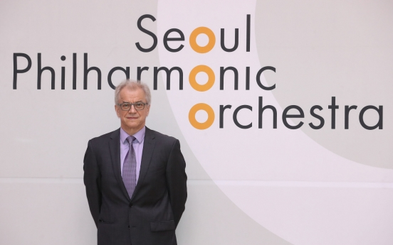 Conductor Osmo Vanska hopes to formulate 'Seoul strategy' for SPO