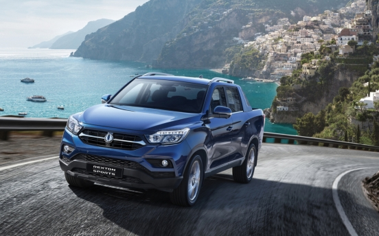 SsangYong pioneers 'open top SUV' with Rexton Sports series
