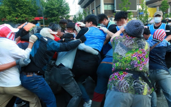 [Newsmaker] Far-right campsite cleared from Gwanghwamun Square
