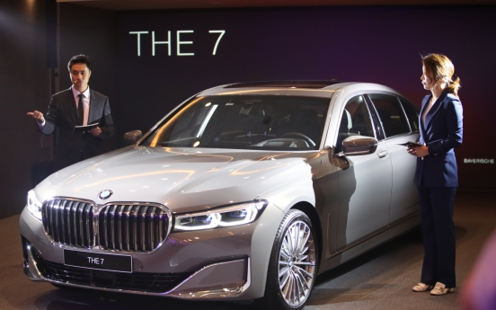 BMW Korea launches face-lifted 7 Series