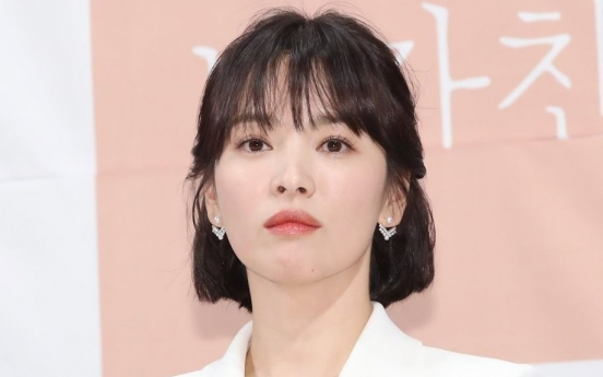 Song Hye-kyo suffered distress from marital problems: report