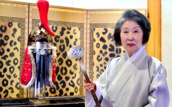 [Herald Interview] Woman's devotion revives art of silver threads