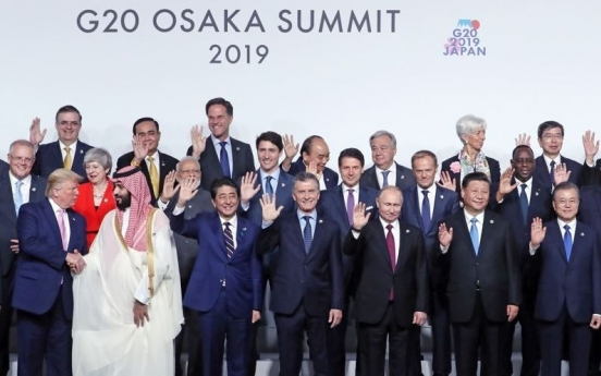 G20 summit officially opens in Japan's Osaka