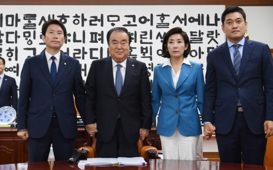 National Assembly back on track with Liberty Korea Party's return