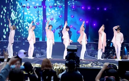BTS tops global ticket chart