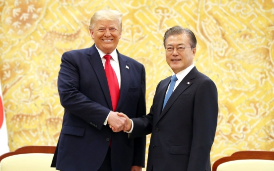 [Photo News] Trump's DMZ diplomacy