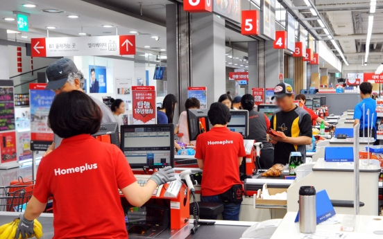 99% of workers at Homeplus now permanent employees